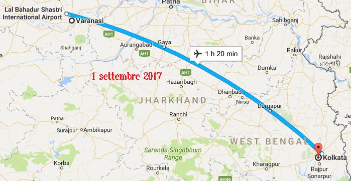 Varanasi - Kolkata